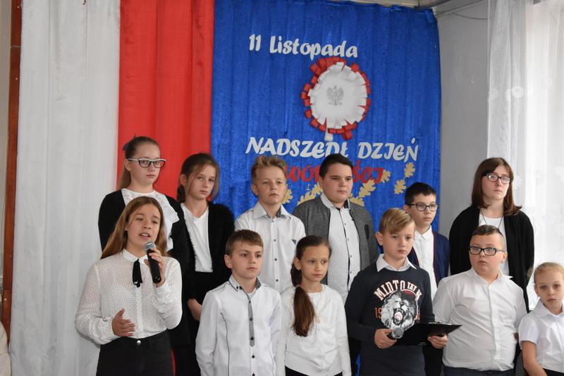 11 listopada pielęgnując patriotyzm – SP Wilczyska