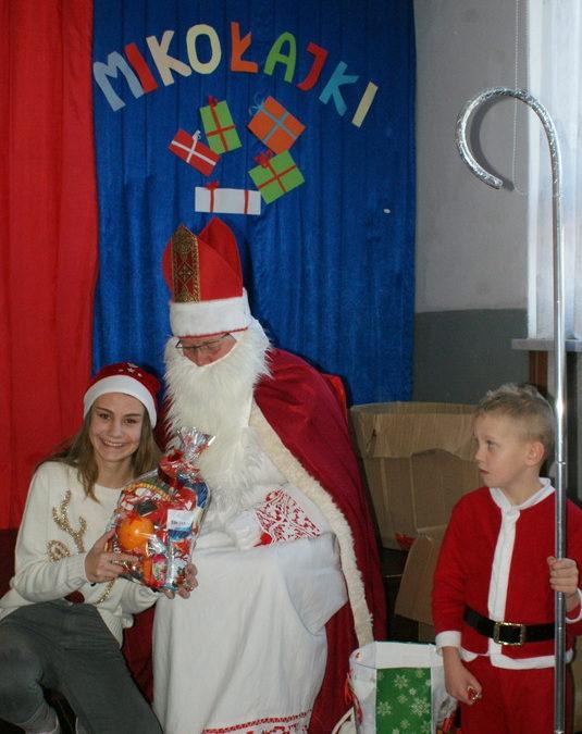 Święty Mikołaj odwiedził Wilczyska !
