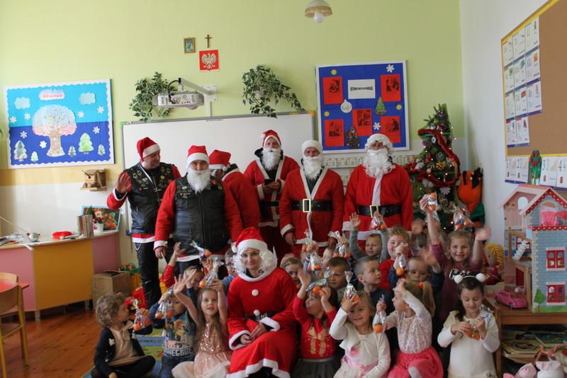 Moto – Mikołaje w Przedszkolu w Wilczyskach