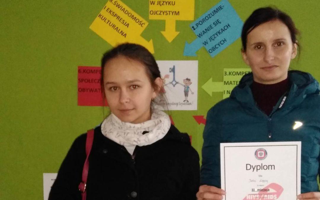 Olimpiada wiedzy o AIDS – laureatka z Wilczysk