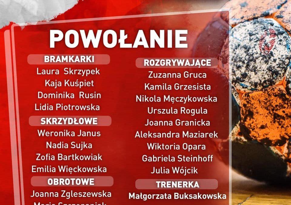 Nasza uczennica Gabrysia Steinhoff w kadrze Polski