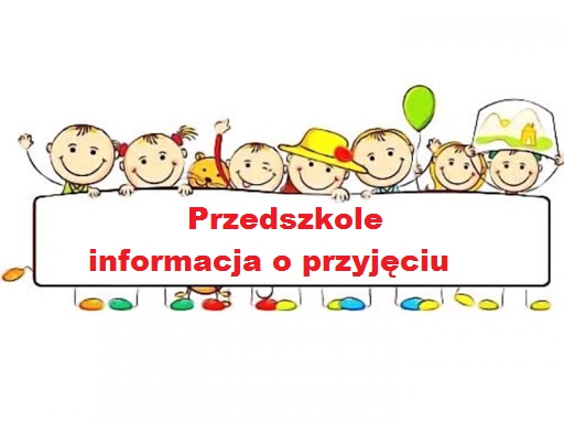 Informacja dla rodziców dzieci przedszkolnych