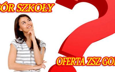 OFERTA ZSZ w Gorlicach