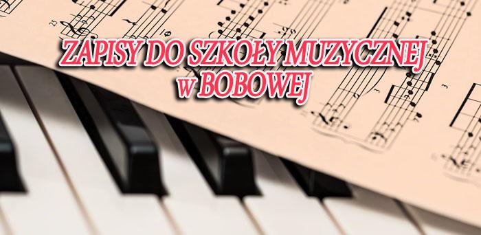 Szkoła Muzyczna I stopnia w Bobowej – rekrutacja