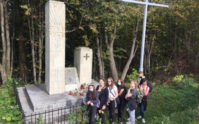 Wycieczka ósmoklasistów z Wilczysk na Matelankę