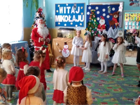 Mikołajki w Przedszkolu w Wilczyskach