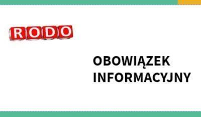 Obowiązek informacyjny – RODO